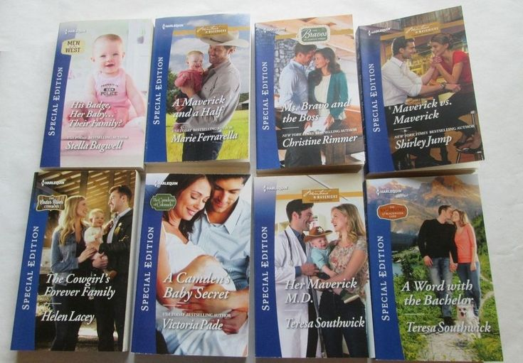 8 HARLEQUIN ROMANCE SPECIAL EDITION BOOKS CATEGORY HOME & FAMILY FREE SHIPPING