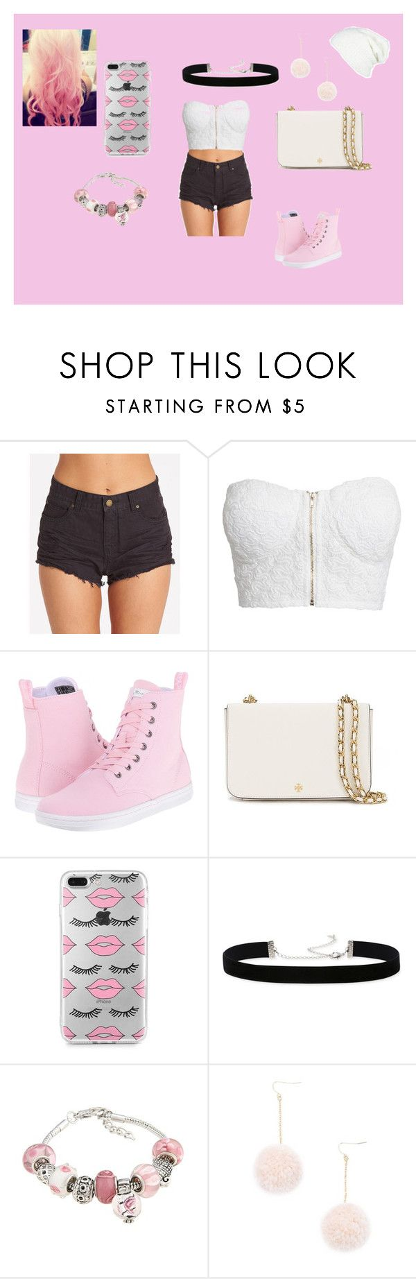 """""""aicia"""" by analuizam-ferreira-rbd on Polyvore featuring beleza, Billabong, NLY Trend, Dr. Martens, Tory Burch, 2028, La Preciosa, Forever 21, Cotton Candy e Free People"""