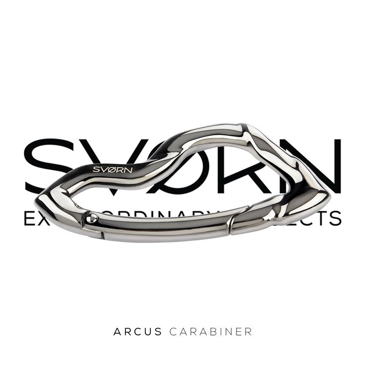 """""""Just because we use something every day, doesn't mean it should look everyday.""""- Arcus carabiner keychain by SVØRN- #carabiner #keychain #keychains #keychaincollector #mensaccessories #carry #essentials #pocket #edc #edcgear #edcdump #pocketdump #everydaycarry #edcporn #edcready #gear #gadget #mensstyle #streetstyle #streetwear #urbanstyle #menstyle #giftsforhim #giftforhim #mensgifts #giftsformen #giftideas #outdoors"""