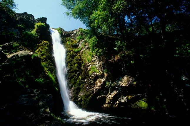 Linhope Spout, River Breamish, Northumberland