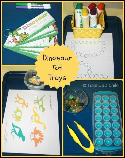 Tot Preschool - Dd is for Dinosaur ~ Learn Play Imagine