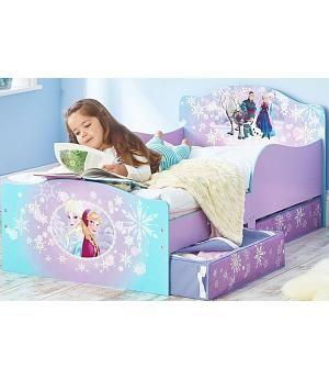 Oferta cama Frozen madera. 509FRN +. Con colchón y almohada