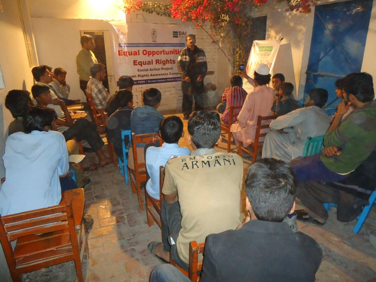 Human rights, UDHR, constitution of Pakistan awareness and peace session in an academy.