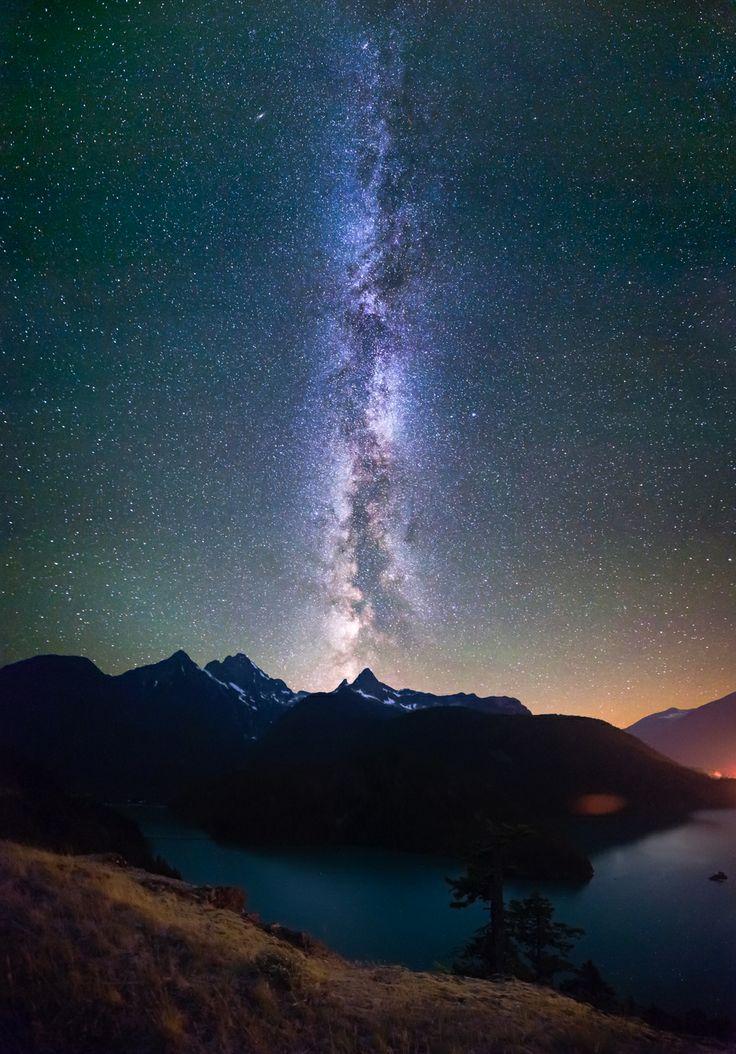 Milky Way, Diablo Lake, Washington