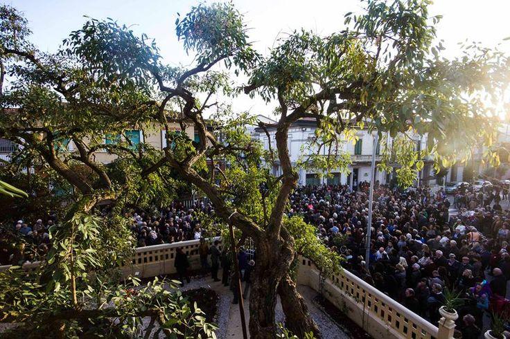 Tantissima gente per la riapertura di #VillArgentina a #Viareggio, uno dei simboli della città ed esempio Liberty