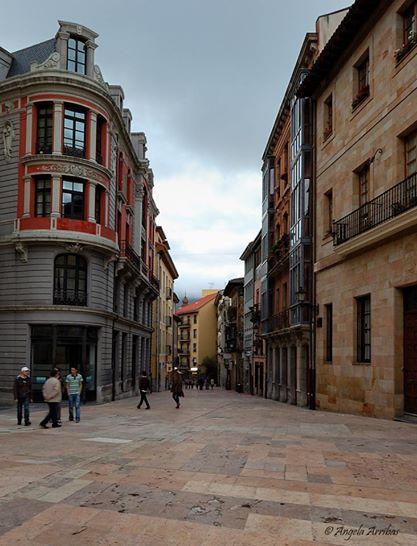Calle Jesus Oviedo.asturias España