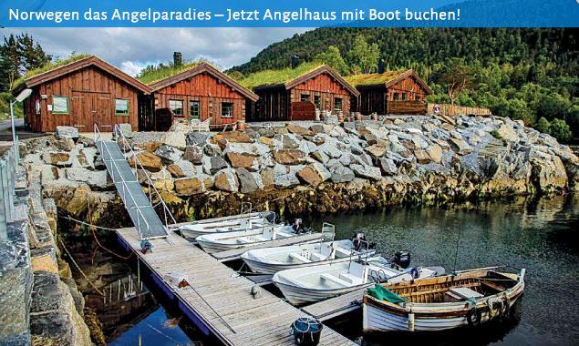Ferienhaus - Angelurlaub in Norwegen