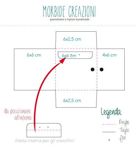 Morbide Creazioni Handmade: Scatoline portaorecchini (Scheda Tutorial #1)