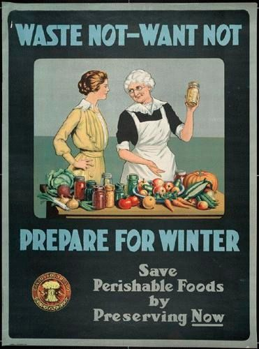 We're loving these vintage food posters, compiled by @TreeHugger that still ring true today. #GROWmethod