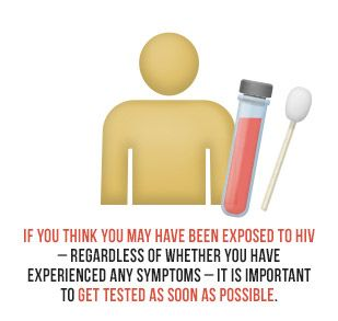If you think you may have been exposed to HIV - regardless of whether you have experienced any symptoms - it is important to get tested as s...