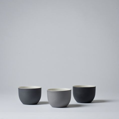 Mjölk : Linum small tea cup - no handles by Nathalie Lahdenmaki - Linum small tea cup