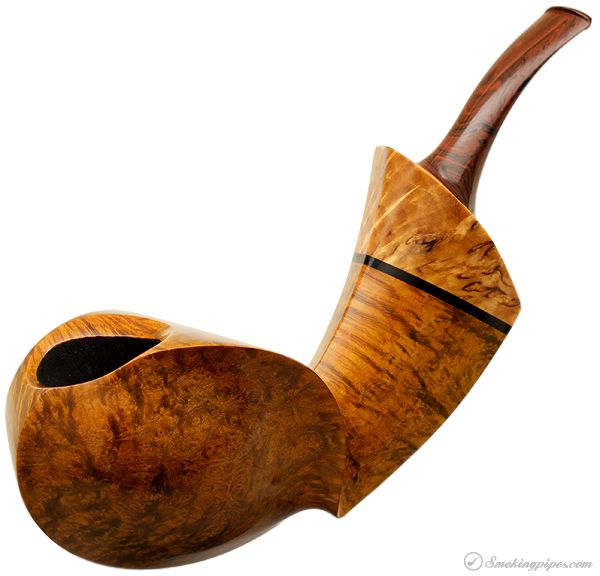 Alex Florov Smooth Blowfish with Masur Birch Pipes at Smoking Pipes .com