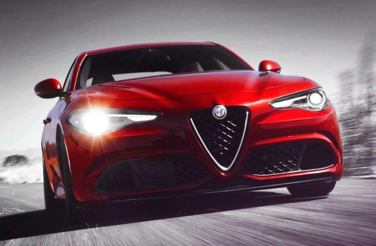 Die italienische Giulia vs. die deutschen Modelle von Audi, BMW und Mercedes
