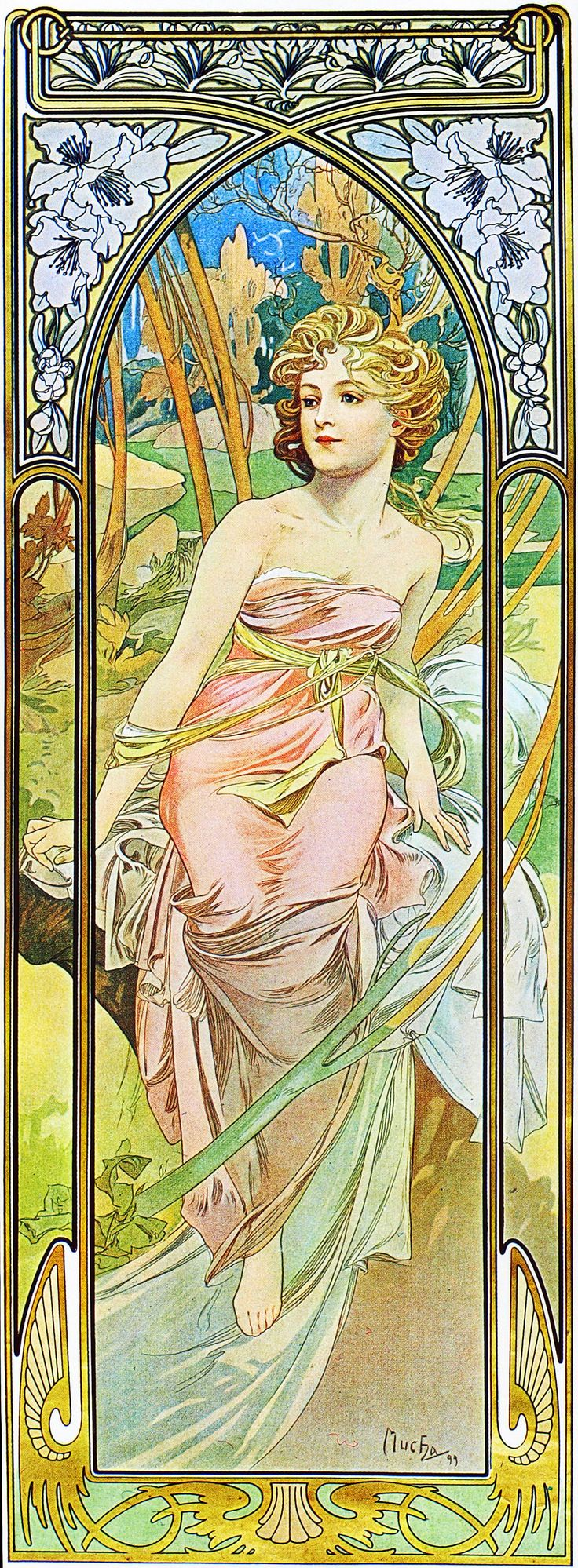 Альфонс Муха - Иллюстрации art nouveau | Contenton - Информационный иллюстрированный интернет-журнал