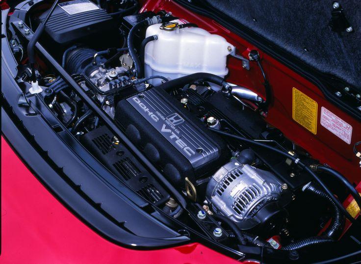 Beating heart of the Honda NSX