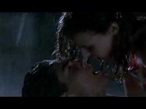 Favorite kissing scene. Cinema Paradiso. Sorry, no subtitles, but he's basically saying how it's been a terrible summer because his girlfriend has been gone while he's worked in the movie theatre the whole time. Ohhh I love this Italian movie. :)