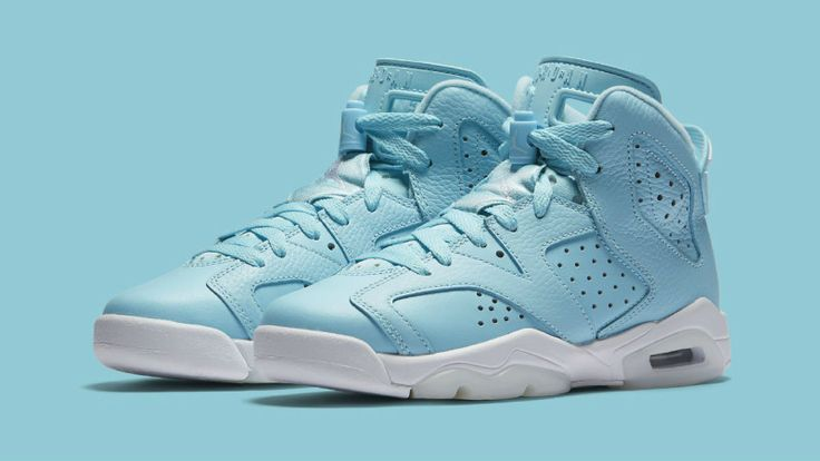 New Air Jordan 6 for girls looks like the highly coveted Pantone sample.