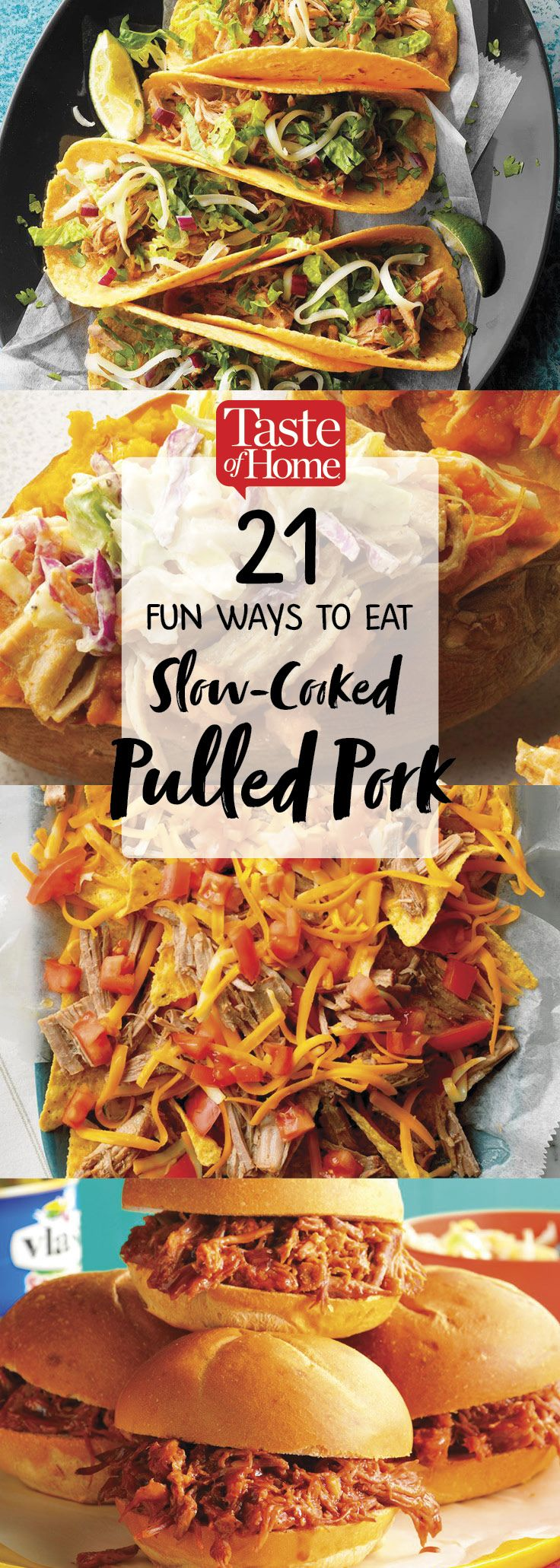 21 Fun Ways to Eat Slow-Cooked Pulled Pork