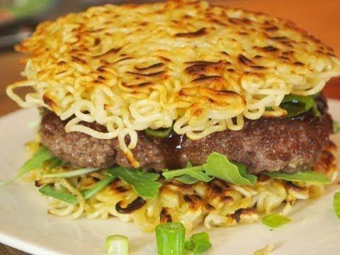 Ramen Burger Recipe!