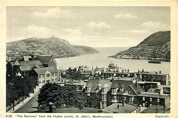 Newfoundland, St John's, the Narrows