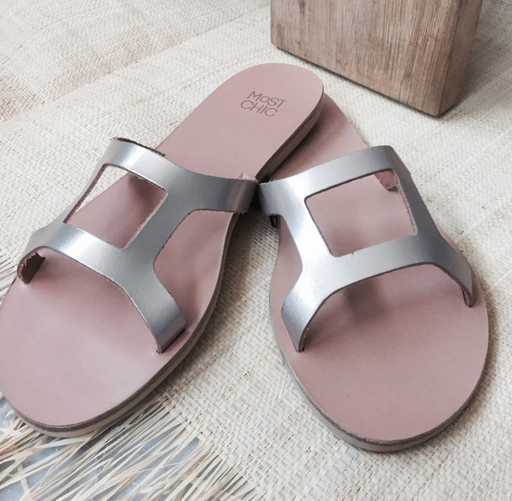 Classics ... handmade sandals by Most Chic  www.most-chic.com