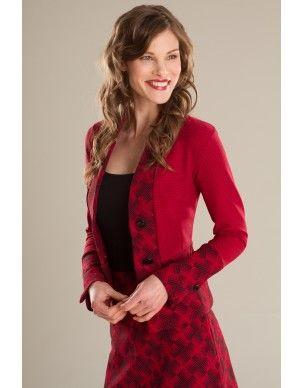 Veste/Jacket Red Lion - KARKASS fashion designer. Mode québécoise / Made in Quebec