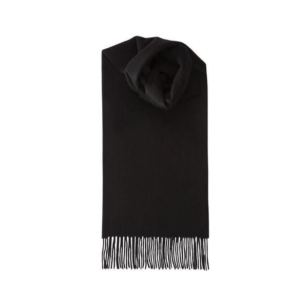 Wool Scarf in Black