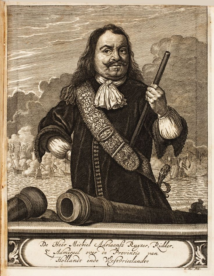 1675.Michiel Adriaenszoon de Ruyter (24 March 1607-29 April 1676) was a Dutch admiral. He was one of the most skilled admirals in history, most famous for his role in the Anglo-Dutch Wars of the 17th century. He fought the English and French and scored several major victories against them, the best known probably being the Raid on the Medway. The pious De Ruyter was very much loved by his sailors and soldiers; from them his most significant nickname derived:Bestevaêr (older Dutch for…