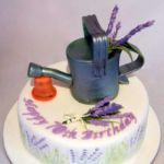 Water can cake