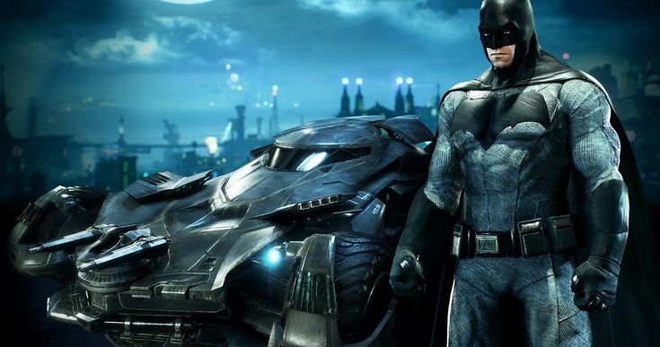 'Arkham Knight' Video Shows 'Batman v Superman' Batmobile in Action -- Get your first look at the 'Batman v Superman' Batmobile that will be included in next week's DLC for the video game 'Batman: Arkham Knight'. -- http://movieweb.com/batman-v-superman-arkham-knight-batmobile-video-game/
