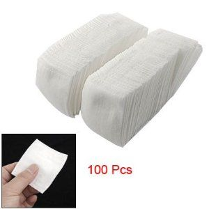 """Rosallini 100 Pcs Wht Rectangle Facial Clean Bag Type Cotton Pads by Rosallini. $6.48. Package Content: 100 x Make Up Cotton Pads. Shape: Rectangle; Material: Cotton, Fabric. Color: White; Weight: 55.7g. Size (Each): 6.2 x 5.8cm / 2.4"""" x 2.3"""" (L*W). Product Name: Make Up Cotton Pads. Bag type cotton pads, new design and easy to use, soft and gentle to all skins.Made of soft cotton, quite comfortable and cozy for your daily use.Skin cleansing, make up or make-up remover, ..."""