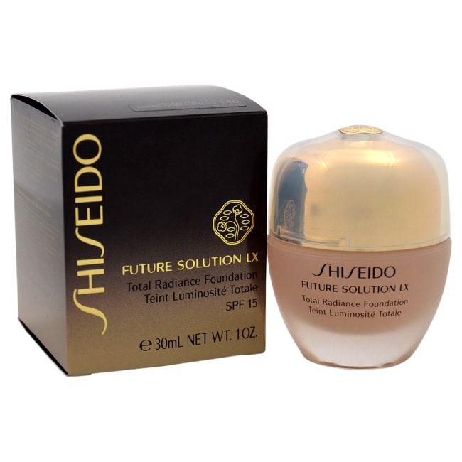 Shiseido Future Solution LX Total Radiance Foundation SPF 15 I40 Fair