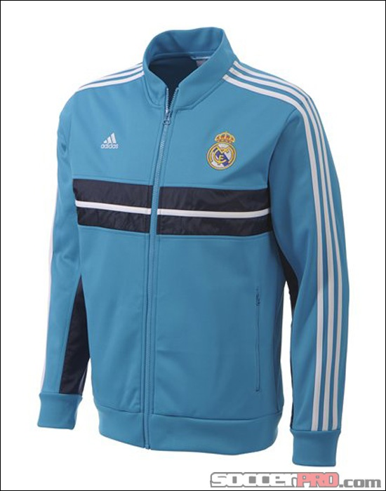 adidas Real Madrid Anthem Jacket - Turquoise...$76.49