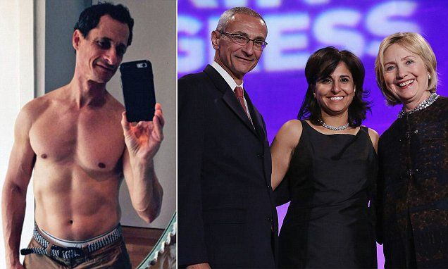 John Podesta and Neera Tanden were forwarded news of an investigation into Anthony Weiner's contacts with a 17-year-old Delaware high school student by Jennifer Palmieri in June 2011.