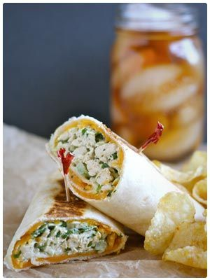75 Healthy Chicken Recipes - Including lots of great wraps!