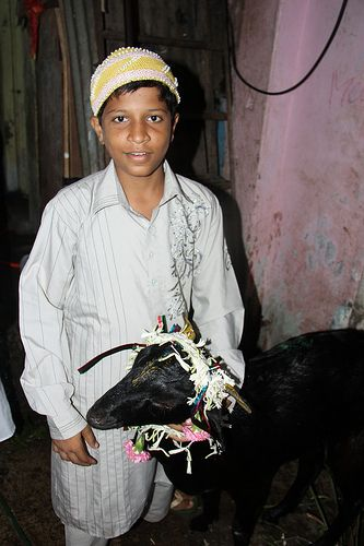 Bakra Eid Qurbani in the Slums