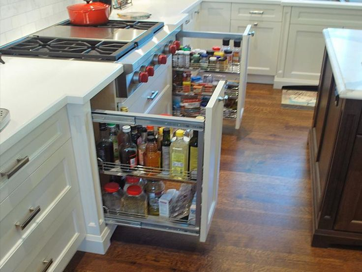 Nice New Storage Kitchen Cabinets Solutions Small But Cool Design