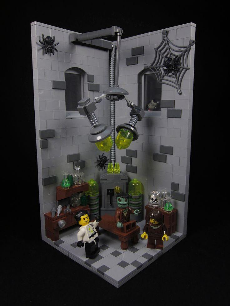 22 best lego science lab moc images on pinterest lego. Black Bedroom Furniture Sets. Home Design Ideas