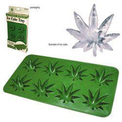 Marijuana Pot Leaf Ice Cube Tray