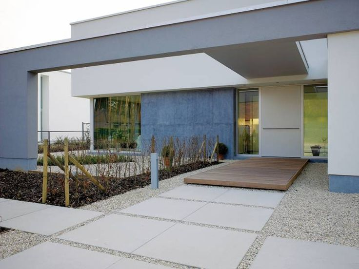CIP concrete | aggregate | wood decking