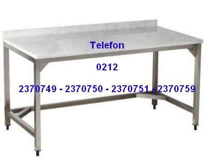 Mermer Çalışma Masası Satış Telefonu 0212 2370750 Mermerli Çalışma Masası:Pastaneler için en kaliteli mermer tablalı hamur hazırlık masası fırıncılar unlu mamül imalatçıları için mermer tablası olan hamur çalışma masaları modellerinin en uygun fiyatlarıyla satış telefonu 0212 2370749