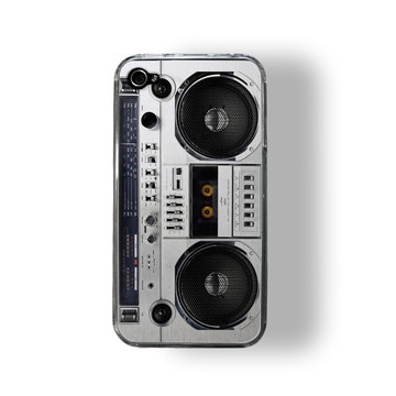 iPhone 4/4S Case Boombox now featured on Fab.