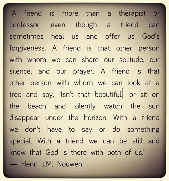 Henri Nouwen on Friends                                                                                                                                                                                 More