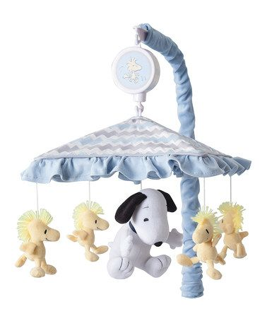 This My Little Snoopy Musical Mobile by Peanuts by Charles Schulz is perfect! #zulilyfinds