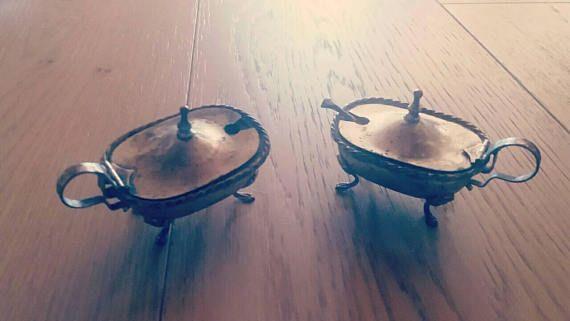 Guarda questo articolo nel mio negozio Etsy https://www.etsy.com/it/listing/541551861/silver-sugar-bowls