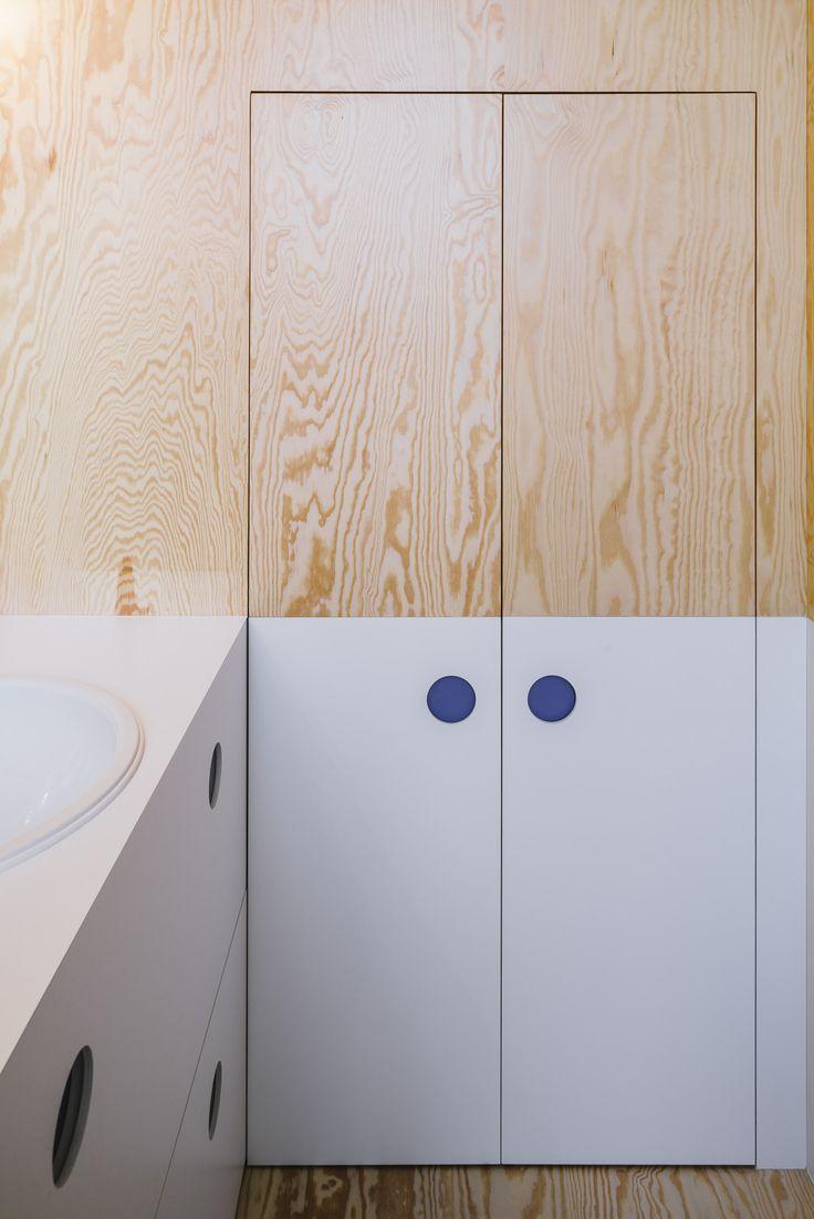 bathroom made by FABRIKAAT design by Van Staeyen Interieur