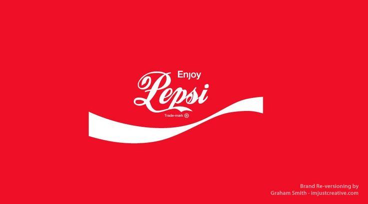 32 Freaky Logos That Combine Brands With Their Arch-Rivals: Logos, Pepsi Coca Cola Reversion, Branding Revere, Branding Identity, Pepsi Coca Cola Revere, Design, Graham Smith, Branding Reverse, Pepsicocacola Revere