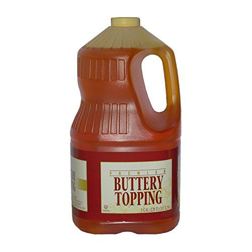 Gold Medal Buttery Topping (gal. jug, 4 ct.) – (Popcorn Kernels & Flavorings)