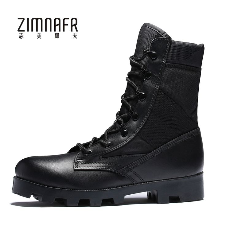 Men Military Boots Mens Army Boots Male Safety Work Botas Steel Toe Shoes Bota Masculina Militar Winter Black Army Shoes For Men