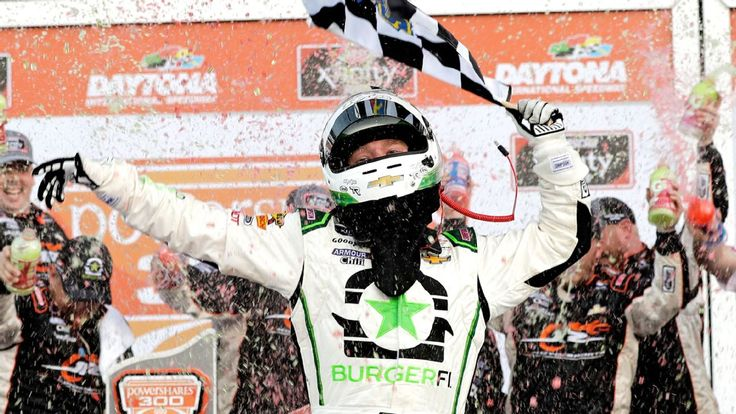 Tyler Reddick needs five overtimes to win Xfinity Series in his debut race for JR Motorsports